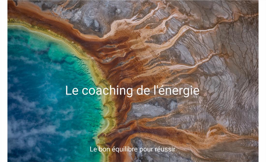 Coaching de l'énergie plus phrase